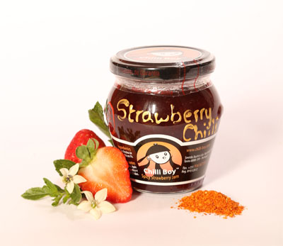 chili strawberry jam