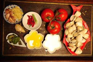 Oriental Clams  Ingredients