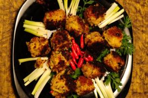Spicy Chilli Balls Fried